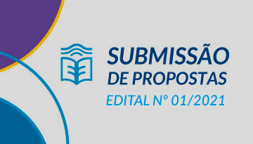 Submissão de propostas de Curso – Edital 01/2021